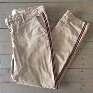 Chino by Anthropologie Relaxed Fit Khakis